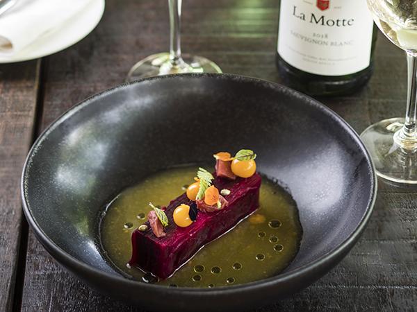 Dish from La Motte.