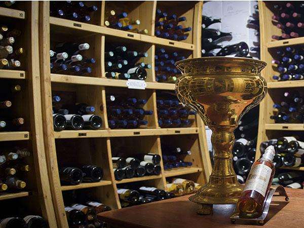 Enjoy vegan-friendly wine from Restaurant Mosaic wine cellar.