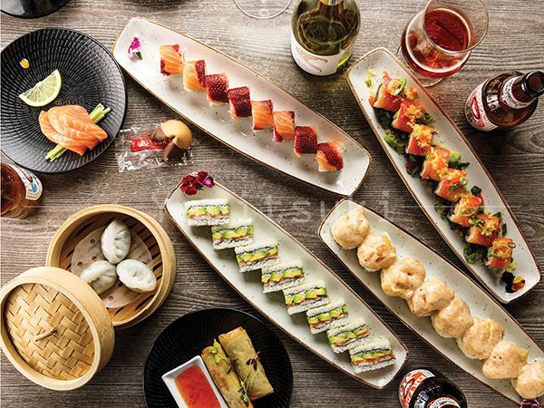 Enjoy sushi and happy hour specials at Yamitsuki.