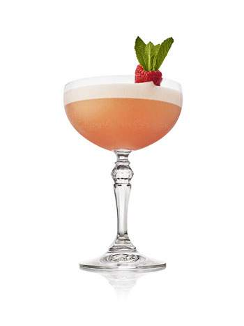 The Hendrick's Gin Clover Club Cocktail