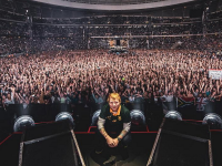 Ed Sheeran at his first Cape Town concert