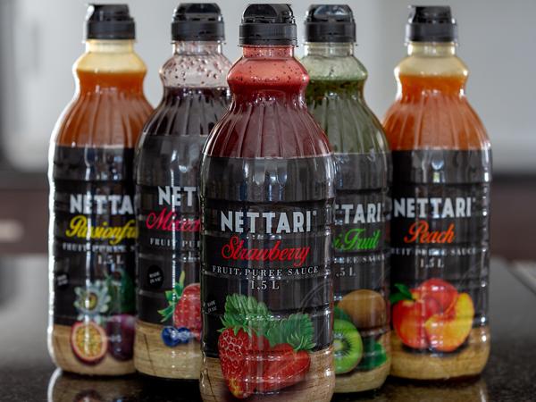 A few Nettari fruit purees
