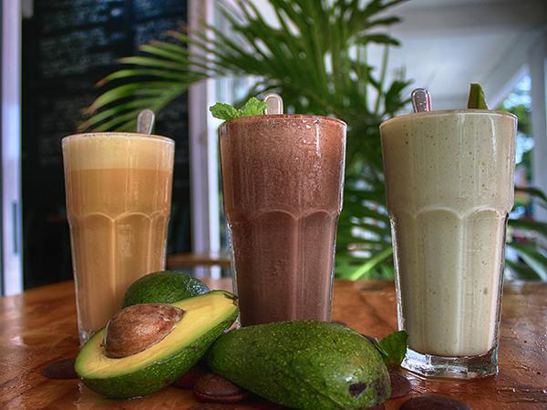 Milkshakes from Parc Café