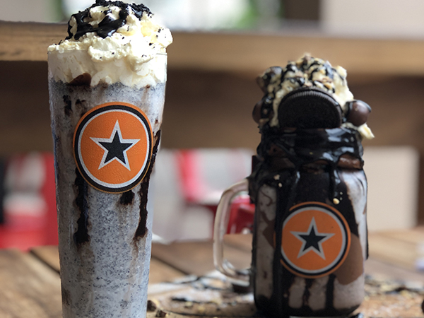 A slow death by chocolate milkshake from Rocomamas