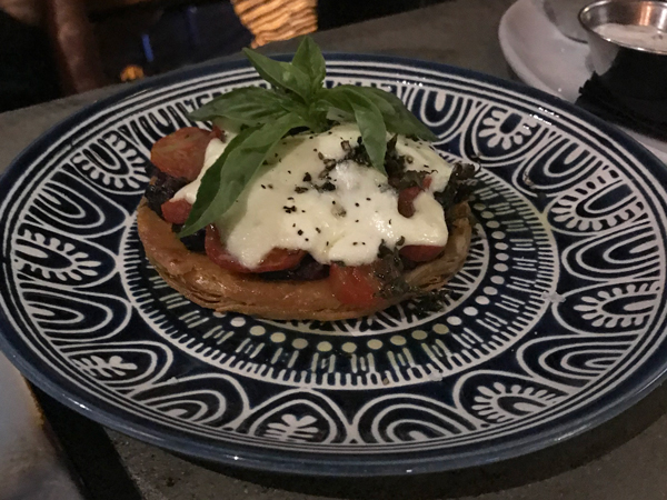 The tomato puff pastry tart
