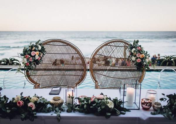 Smell the sea breeze while celebrating at the Canelands Beach Club