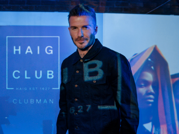Spotted: David Beckham dines at one of Joburg's top restaurants