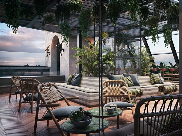 New poolside rooftop bar alert: Gigi Rooftop to open in Cape Town's St George's Mall