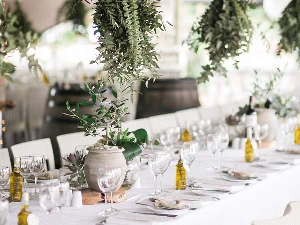 A table setting at Casalinga. Photo supplied.