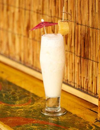 The Ginger Pina Colada cocktail