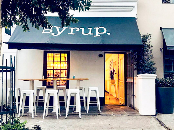 Syrup is Bree Street's hot new brunch bar with a difference