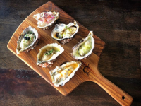 Assorted oysters at shucked oyster bar. Photo supplied.