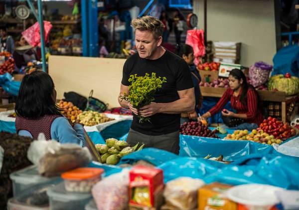 Gordon Ramsay in Peru