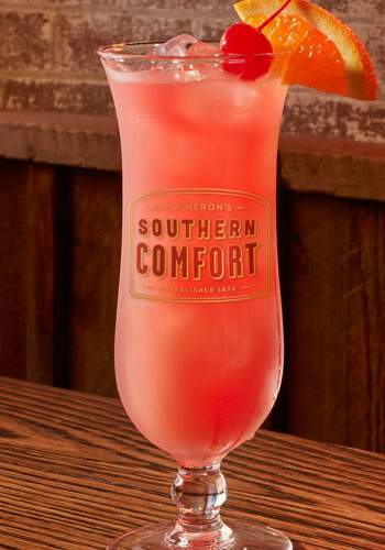The Hurricane cocktail by Southern Comfort Black
