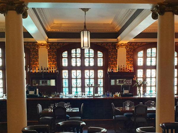 The Rand Club bar