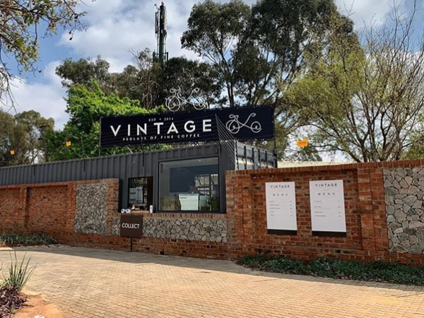 This is South Africa's first specialty coffee drive-thru