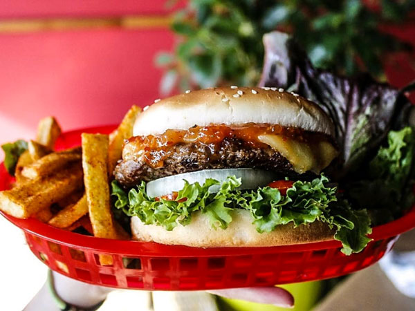 Hot new burger bar by Maps Maponyane now open in Linden