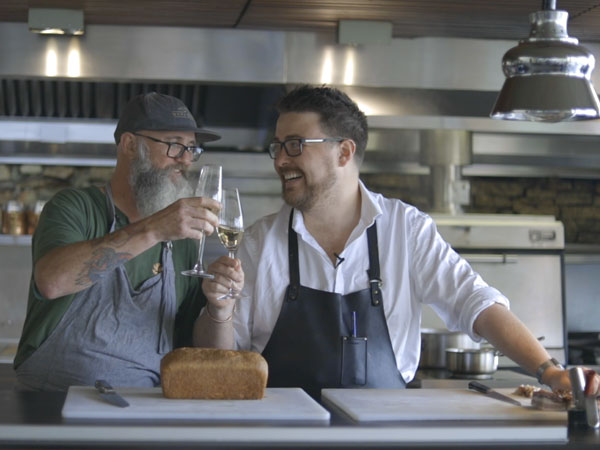 Watch: This is what happens when you get two top chefs to cook each other brunch