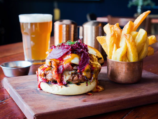 Gauteng's best burger eatery offers OTT burgers and perfect onion rings