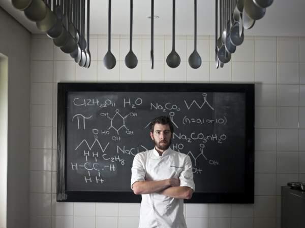 Chef Michael Cooke of Camphors at Vergelegen.