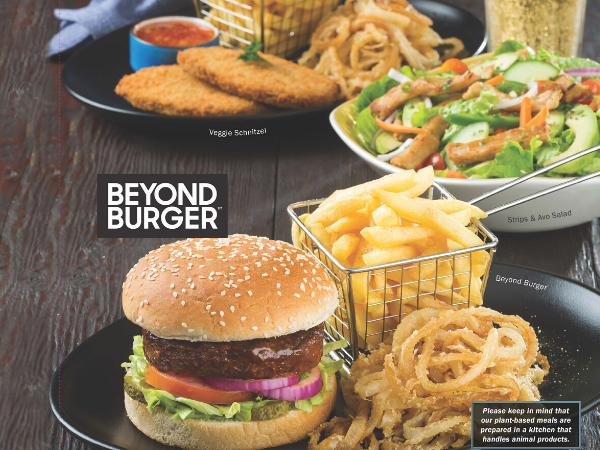 Spur launches new plant-based menu nationwide