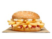 Burger King chip roll