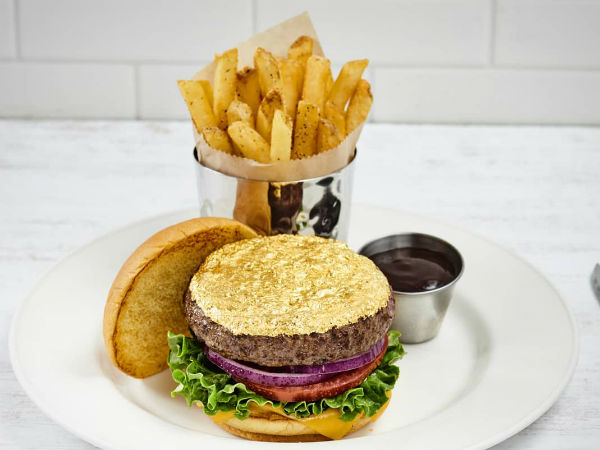 Introducing SA's most extra burger – complete with edible 24-Karat gold leaf