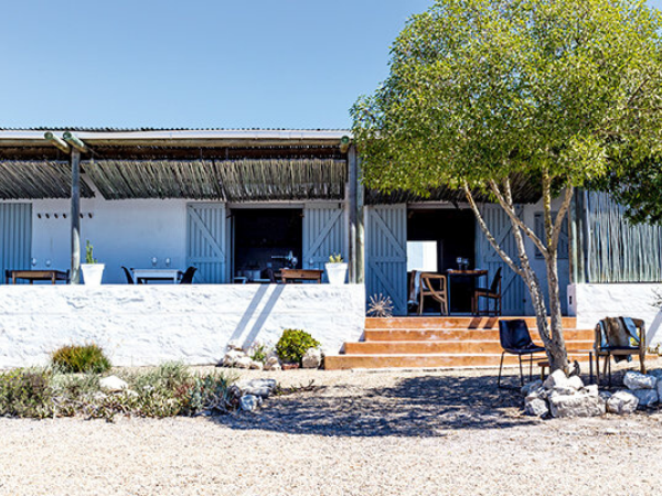 Wolfgat Restaurant. Image Supplied
