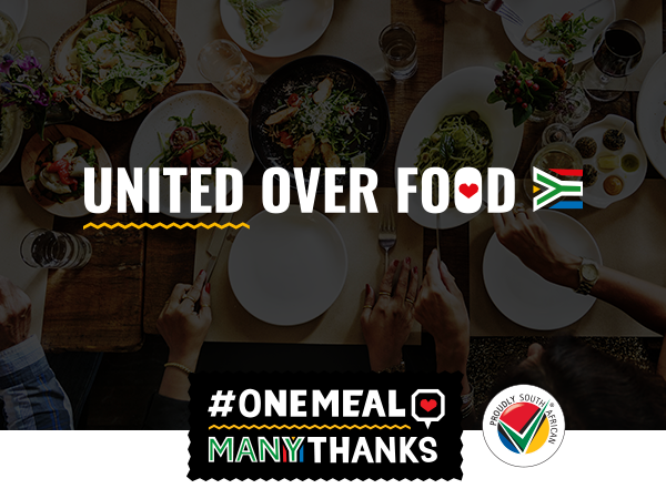 #OneMealManyThanks partners up with Proudly South African to support local restaurants this festive season