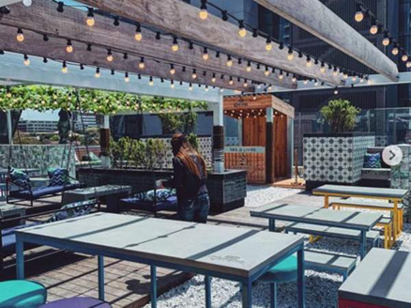 The Arch rooftop bar