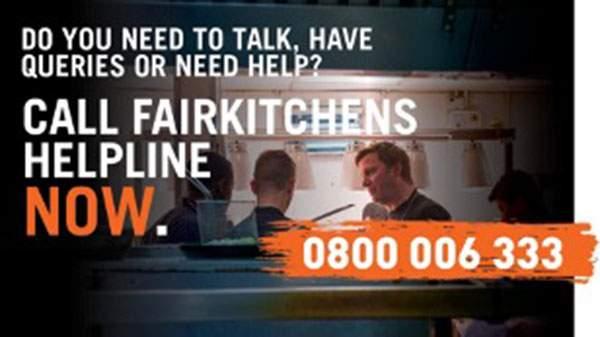 FairKitchens helpline