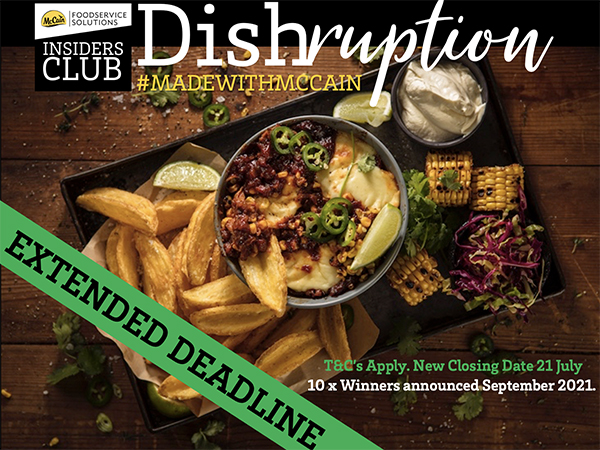 Partner content: Calling all restaurants owners and independent operators to take part in the #DishruptionChallenge