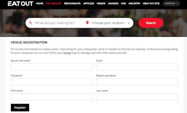 venue registration
