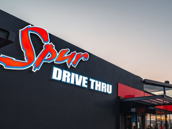Spur's first drive thru is open