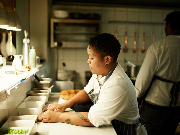 How a sous chef runs her kitchen