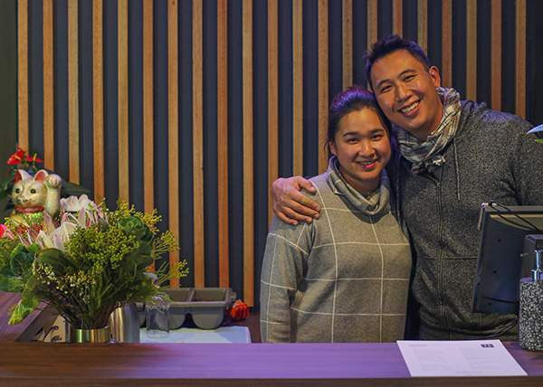 Ling and Daniel from Obento