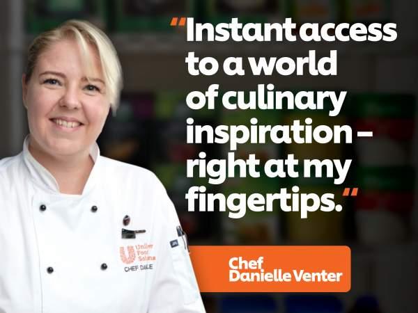 Quote by Chef Danielle Venter