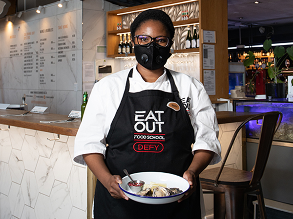 WATCH: Boitumelo Motshegoa's journey with the Eat Out Food School