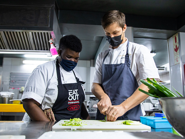 Watch: Sandisile Sonka's journey with the Eat Out Food School