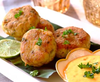 Tumeric Fish Cakes