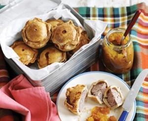 Mini pork pies